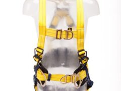 DBI SALA ® Delta™ 1112924 Safety Harness with with 5 attachment point D rings Support Belt and Central Belt D-ring
