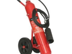10kg CO2 Wheeled Fire Extinguisher