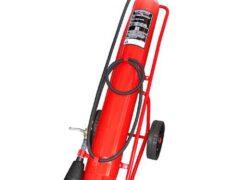 30kg CO2 Wheeled Fire Extinguisher