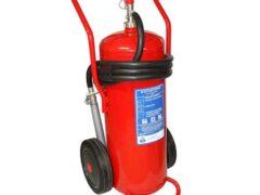 50kg Powder Wheeled Fire Extinguisher