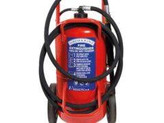 Britannia Norfolk 70kg Wheeled BC Dry Powder Extinguisher