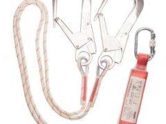 3M™ Protecta® Sanchoc™ Shock Absorbing Lanyard AE5318RAK, Kernmantle Rope, Twin Leg, 1.80 m